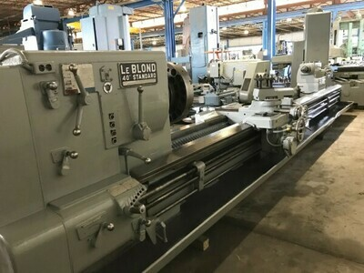"1 - USED 40"" X 19' CC LEBLONDE ENGINE LATHE"