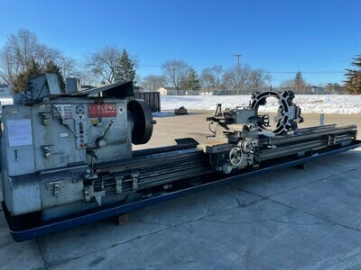 "1 - USED 40"" X 20' CC LEBLOND ENGINE LATHE"
