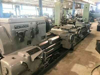 "1 - USED 40"" X 17' CC MONARCH ENGIINE LATHE"
