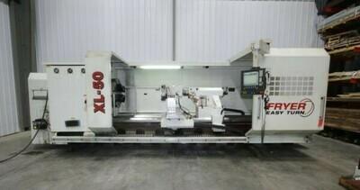 1 - USED FRYER 50″ X 160″ CNC FLAT BED LATHE