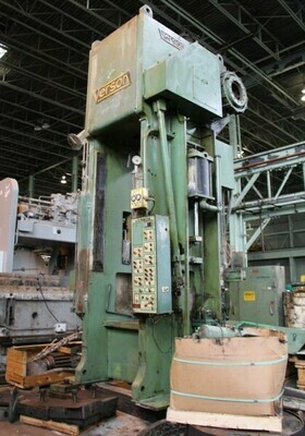1 - USED 500 TON VERSON SSSC PRESS