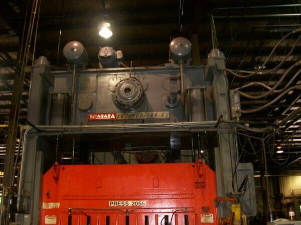 1 - USED 400 TON NIAGARA ECCENTRIC POWER PRESS