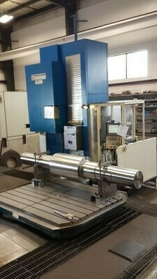 """1 - USED 29' 5"""" X 98"""" TOS FUQ 150 CNC 7-AXIS TRAVELING COLUMN MILLING MACHINE"""