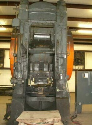 1 - USED 1,000 TON CLEVELAND KNUCKLE JOINT PRESS