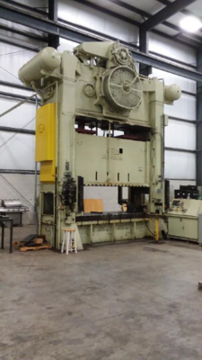 1 - USED 500 TON DANLY SSDC PRESS