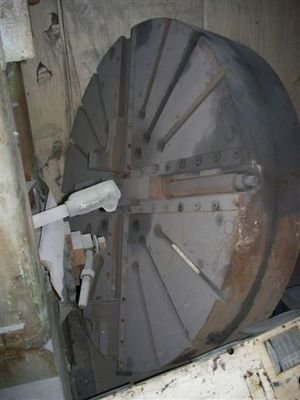 "1 - USED 72"" DIAMETER  HEAVY DUTY 4-JAW CHUCK"