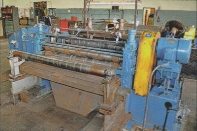 "1 - USED 48"" X .125"" STAMCO SLITTING LINE"