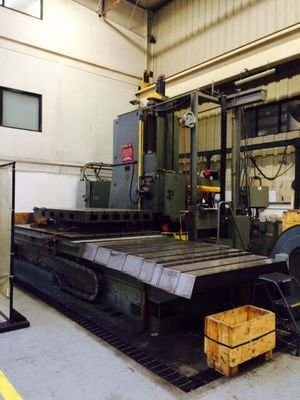 "1 – 6"" DEVLIEG CNC JIG MILL MODEL 65RK120"