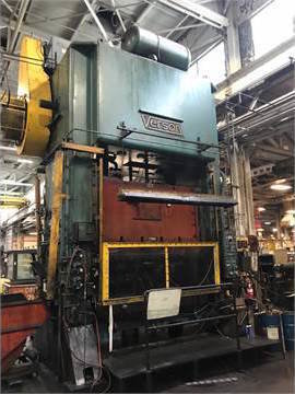 1 – USED 600 TON VERSON SSDC PRESS