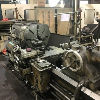 """1 – USED 25"""" X 120"""" AXELSON HD ENGINE LATHE MODEL D"""