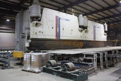 1 – USED 1,000 TON X 52' PACIFIC HYDRAULIC TANDEM PRESS BRAKE