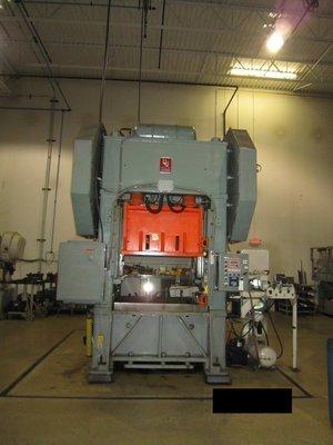 1 – USED 150 TON L&J SSDC PRODUCTION MASTER POWER PRESS