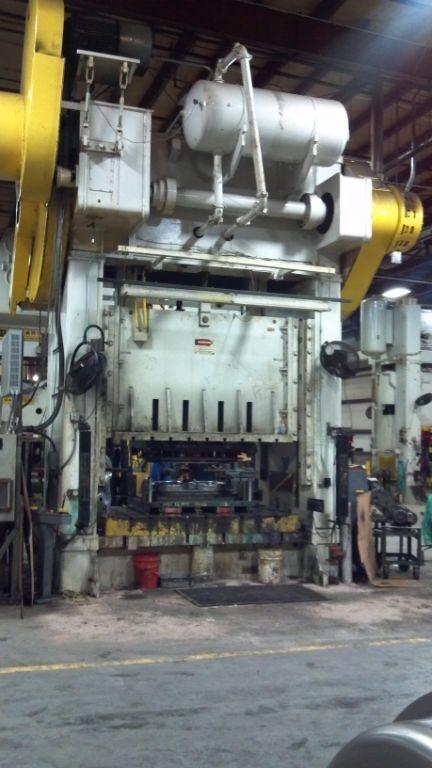 1 - USED 600 TON NIAGARA SSDC PRESS