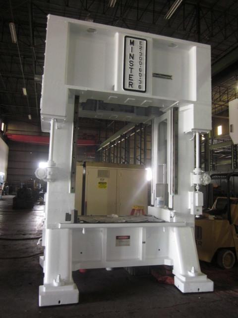 1 - USED 300 TON MINSTER E2-300-60-36 HEVI-STAMPER SSDC PRESS