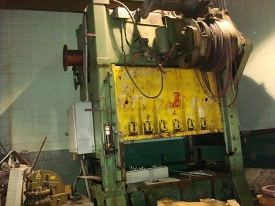 1 – USED 200 TON WARCO STRAIGHT SIDE, DOUBLE CRANK TRANSFER DIE PRESS