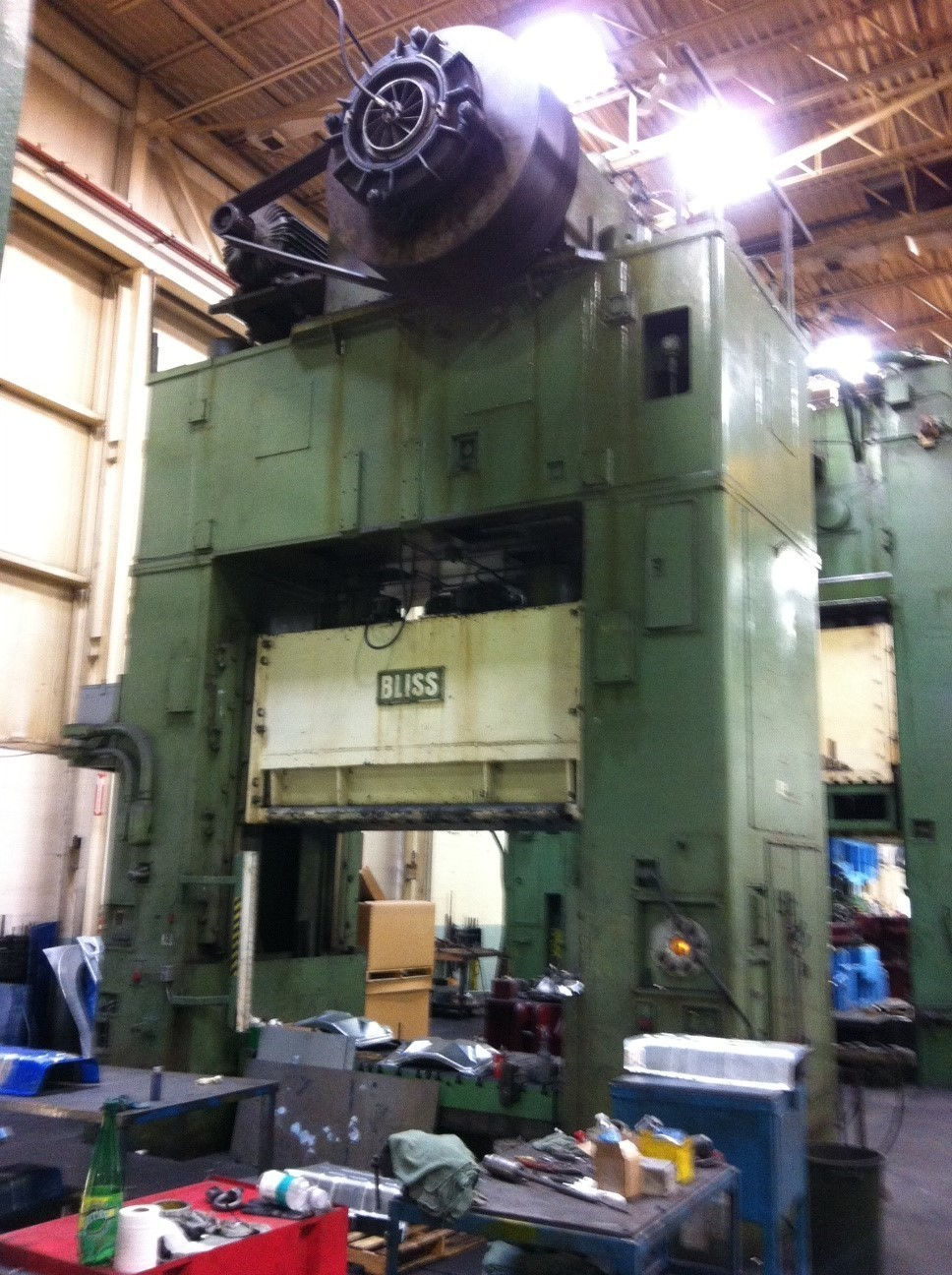 1 – RECONDITIONED 1000 TON BLISS SSDC POWER PRESS