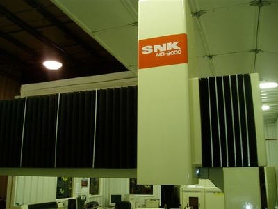 1 - USED #MD2000 SNK 3-AXIS TRAVELING BRIDGE CNC DIGITIZER