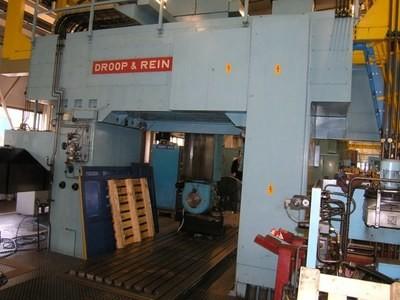 "1 – USED 187"" X 126"" DROOP & REIN CNC BRIDGE TYPE VERTICAL MACHINING CENTER"