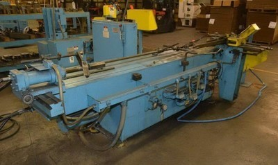 "​1 – USED 3"" PINES MODEL 2 HORIZONTAL HYDRAULIC TUBE BENDER"