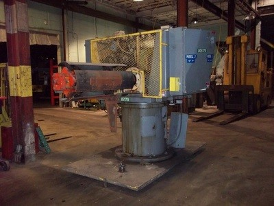 1 - USED 7,500 LB. ROWE DOUBLE END STOCK REEL