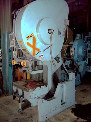 1 – USED 60 TON MINSTER FLYWHEEL TYPE OBI PRESS