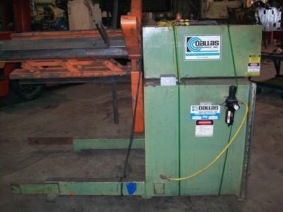 1 – USED MODEL DCR-8000X36-LH DALLAS PLAIN COIL REEL