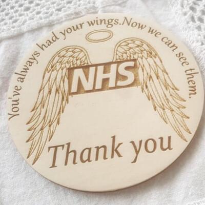 Nurse/NHS Thank You Coaster Gift