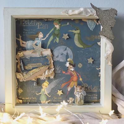 Peter Pan Diarama Frame