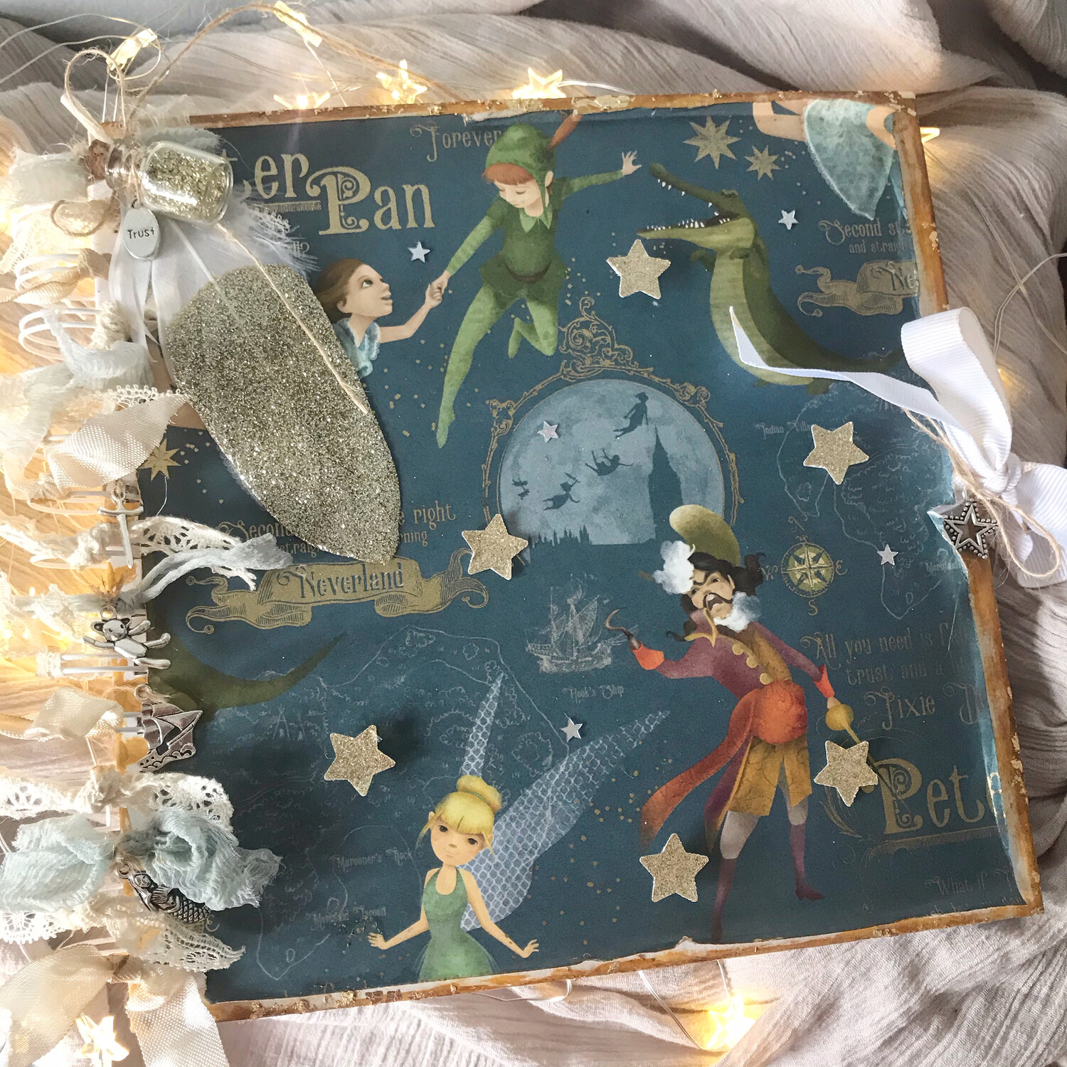 Peter Pan Memory Book
