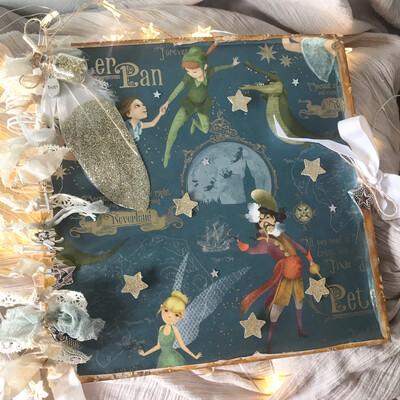 Peter Pan Memory Book