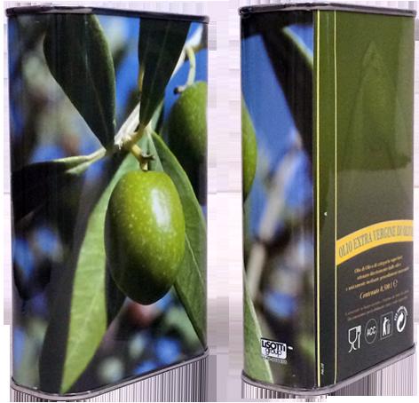 LATTINA da 500 ml Olio  Evo  Extravergine Azienda Agricola