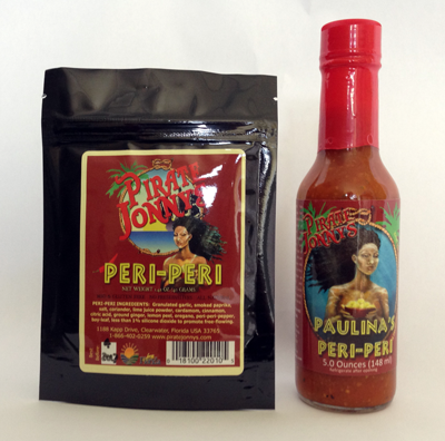 Peri-Peri Dry Rub and Hot Sauce Combo