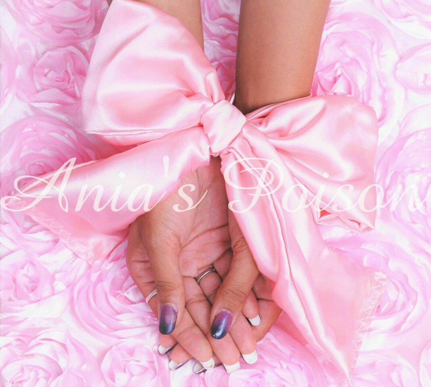 Pure Satin shiny silky smooth double sided Hand Ties or blind fold