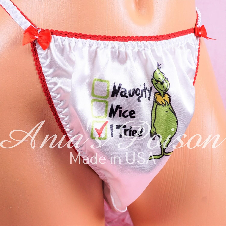 Naughty Shiny Panties