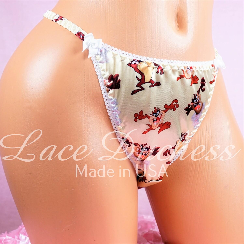 Lace Duchess Classic 80's cut satin Character Taz the Devil - SUPER RARE