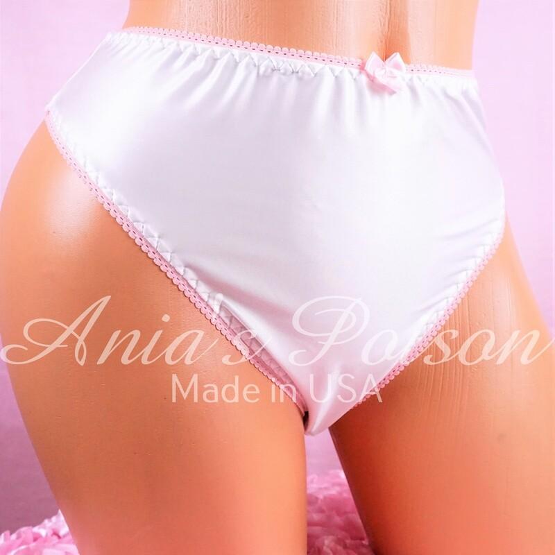 Amazing Truly Unisex Liquid Stretch Spandex full cut bikini ladies mens panties ONLY SIZE 7