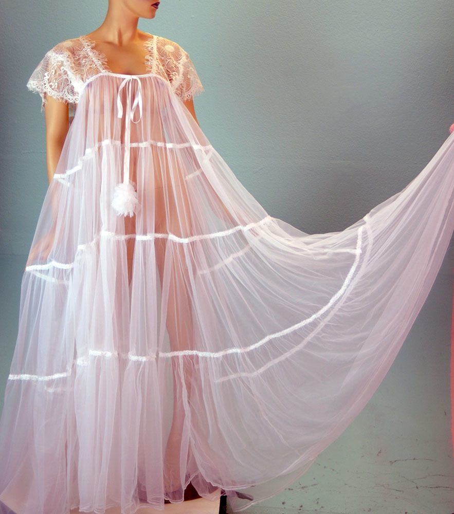 VTG style Antron chiffon totally sheer 400
