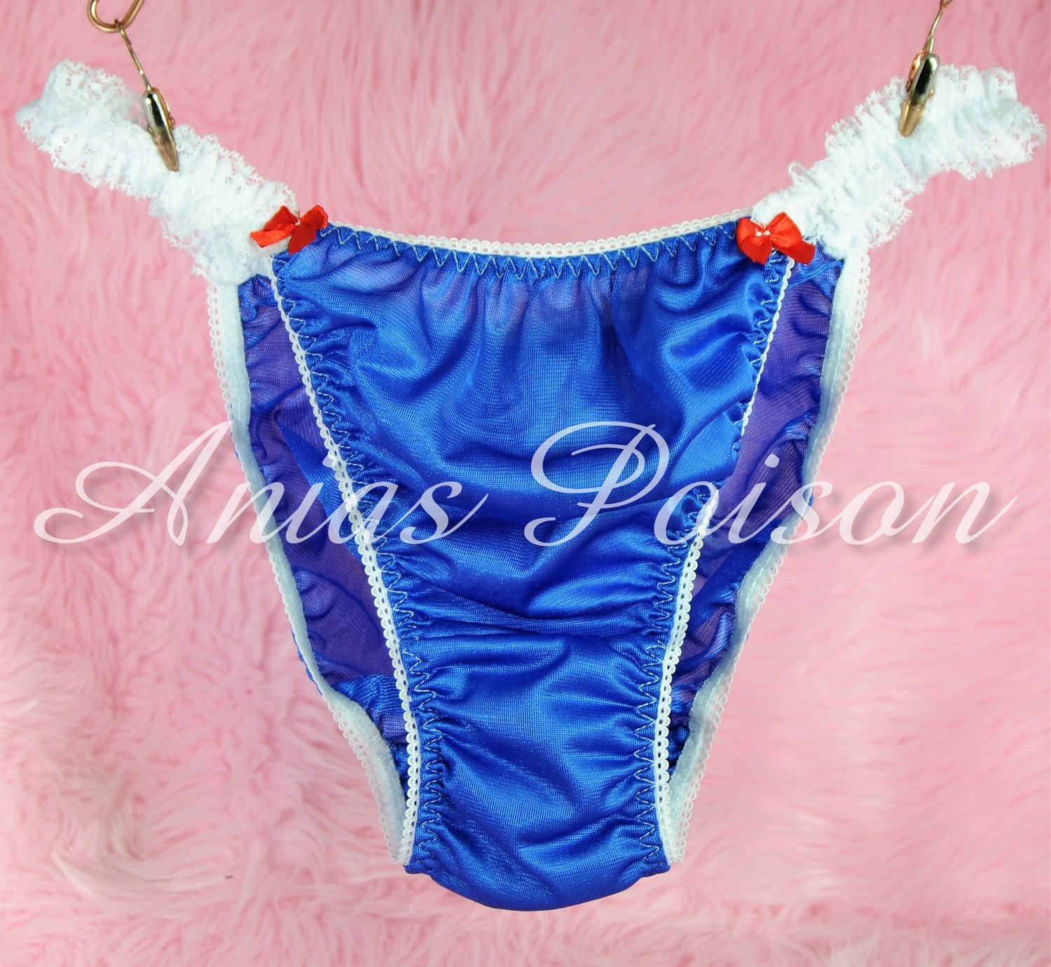 Anias Poison Sailor Moon Kawaii Anime Sailor Girly Sissy Nylon panties