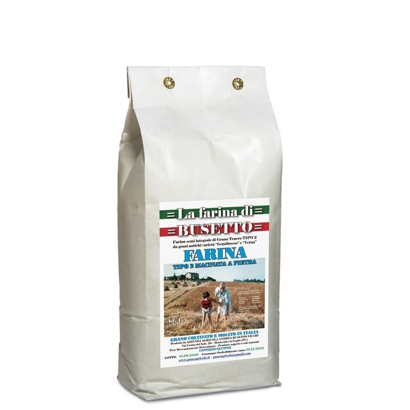 Farina Busetto tipo 2 conf 1 kg
