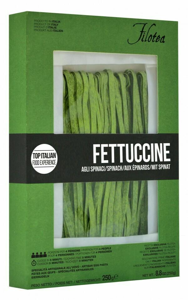 Fettuccine agli spinaci Filotea