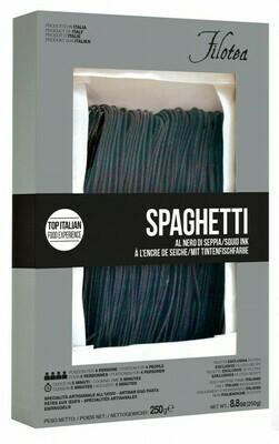 Spaghetti alla chitarra al nero di seppia Filotea