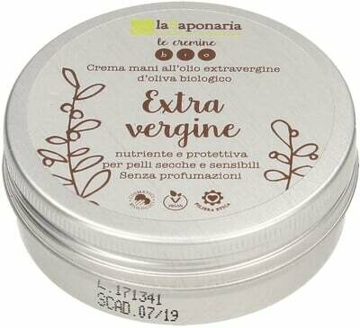 Crema mani extravergine La Saponaria