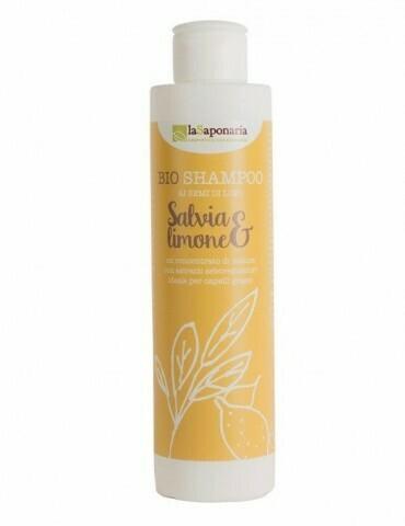Shampoo salvia e limone La Saponaria