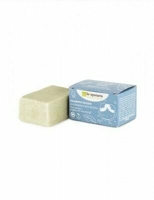 Shampoo solido purificante e anti forfora La Saponaria