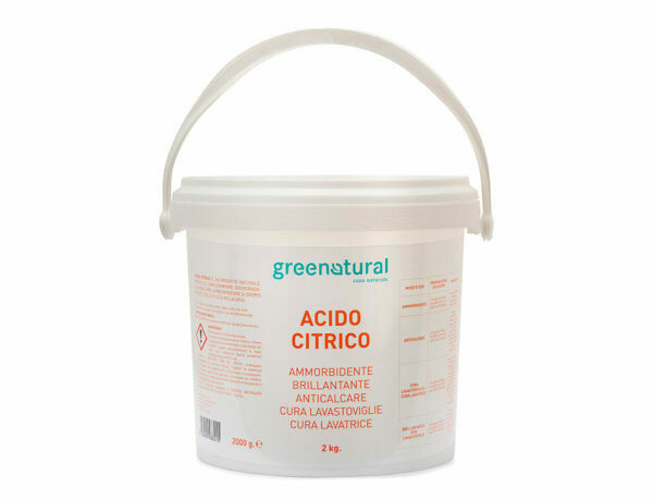 Acido Citrico Greenatural 2Kg
