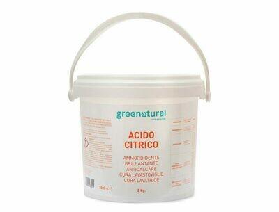 Acido Citrico Greenatural 2Kg