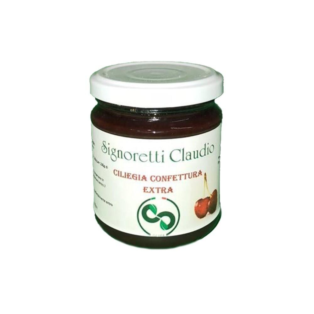 Confettura extra di ciliegie Signoretti Claudio