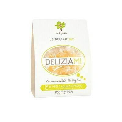 """Caramelle al miele e limone """"Le Querce"""" 90 gr"""