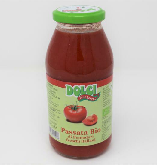 "Passata di Pomodori BIO ""Dolci Nazzareno"" 480 gr"