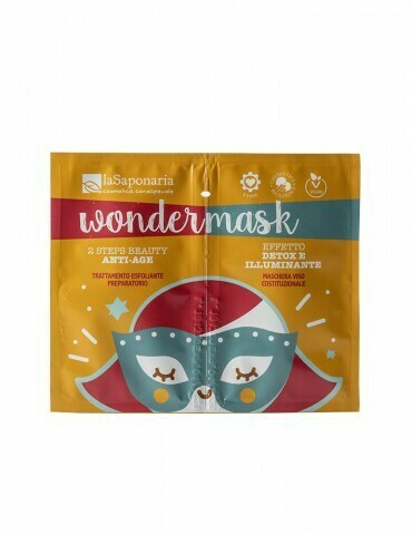 "Wondermask - maschera 2 steps beauty anti age ""La Saponaria"""